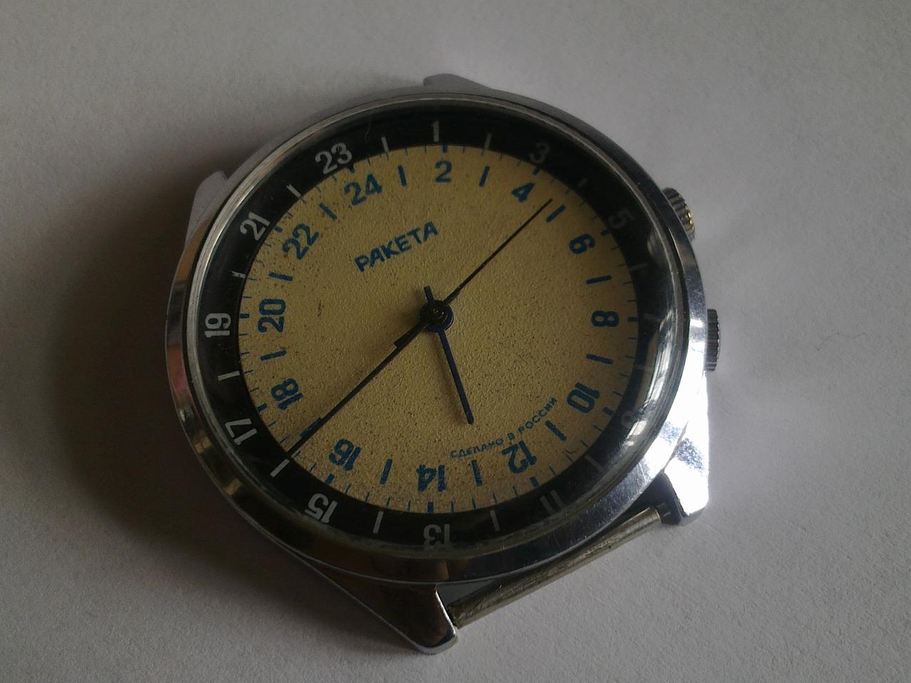 женские советские золотые часы