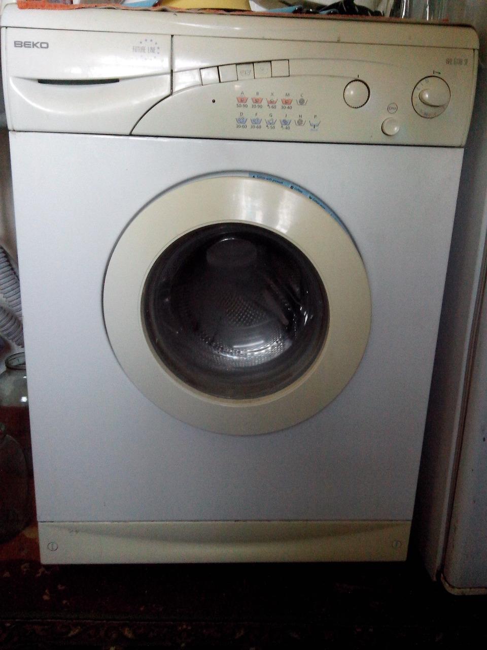 Замена подшипника в стиральной машине веко 6108