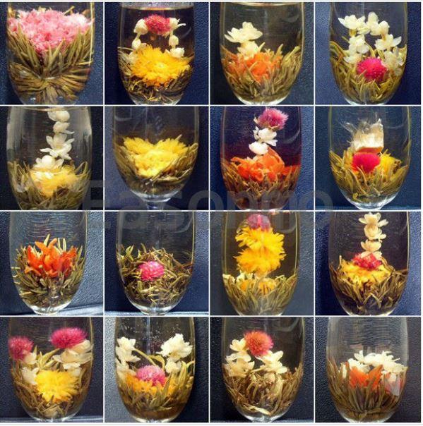 Китайский чай из цветков