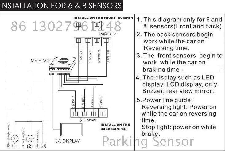 Re: Подключение парктроника