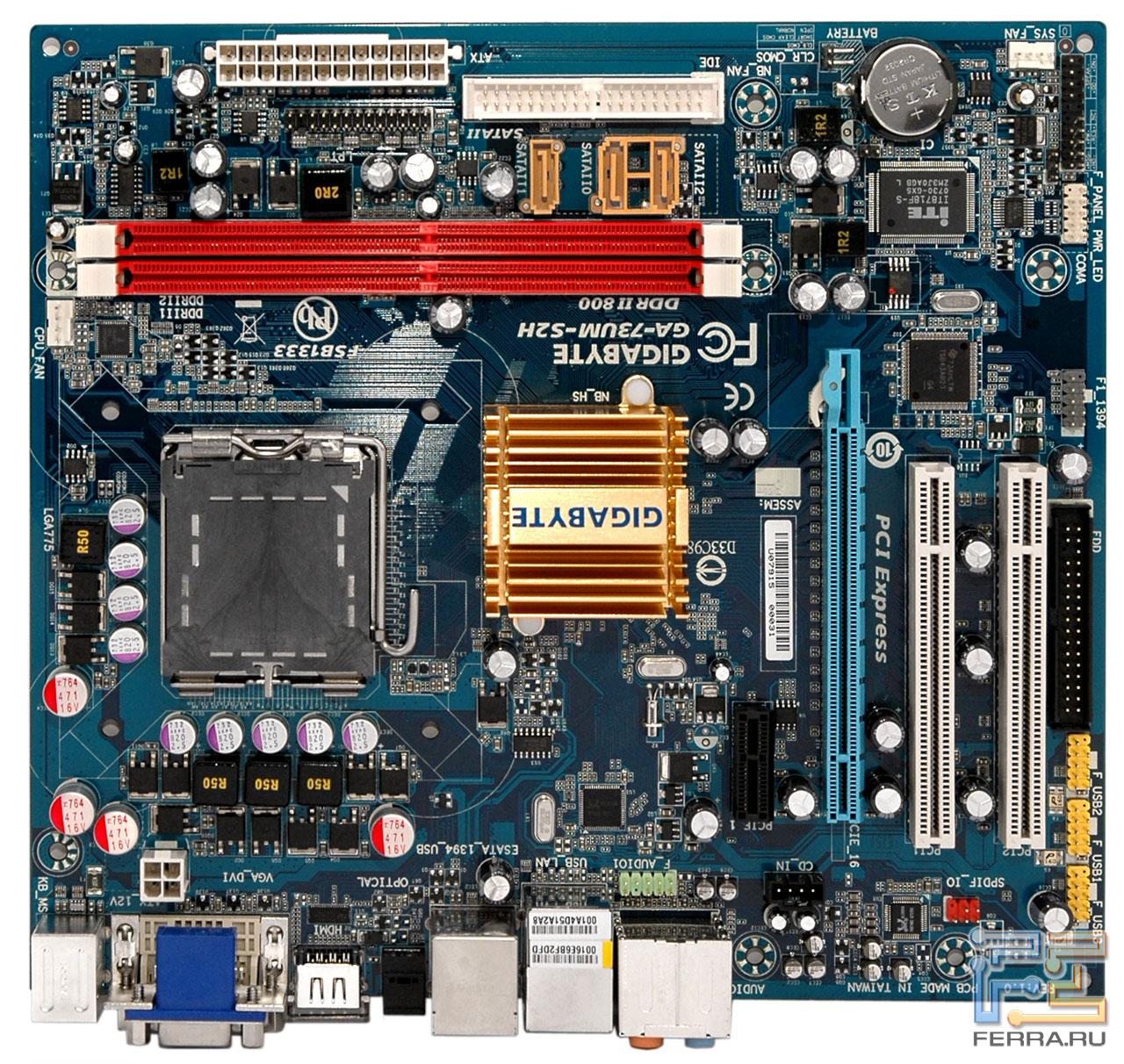 Pc-sense gigabyte ga-73pvm-s2h ??  ??
