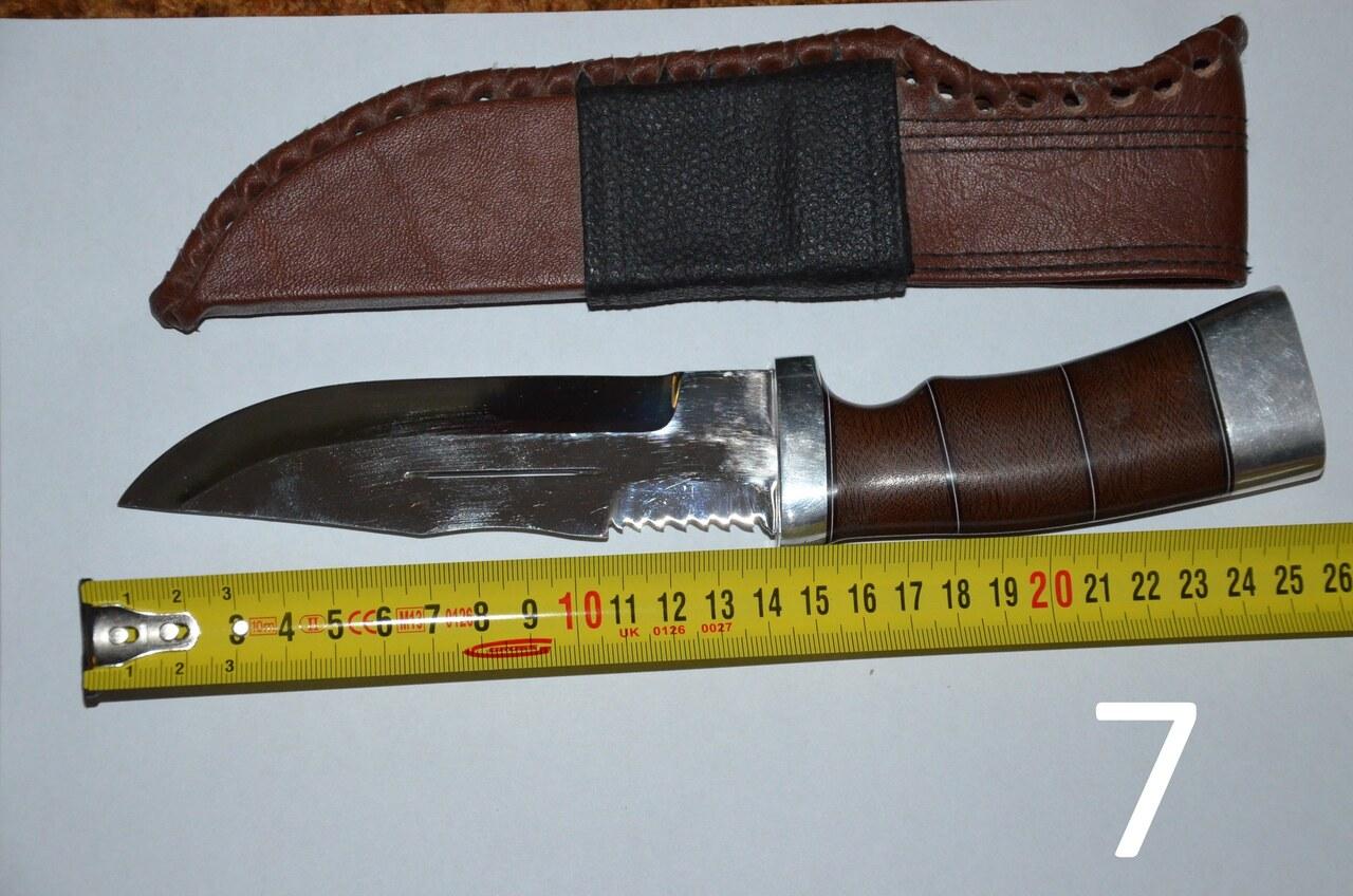 Нож для рыбалки и охоты своими руками 74