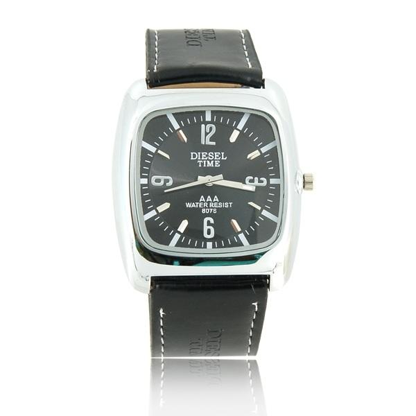 Стильные чёрные мужские часы Diesel Time 8078 новые в упаковке. Состояние: Новое