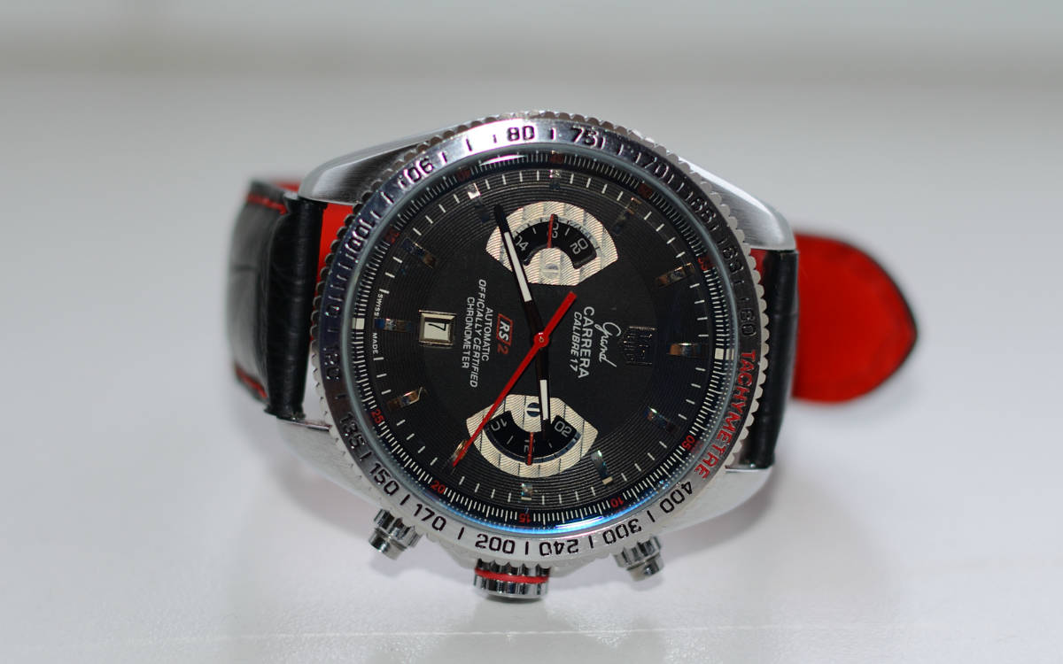 Tag heuer grand carrera calibre 17 watch rs2