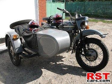 Мотоцикл урал турист с коляской 1993 год