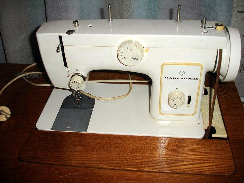 Швейная машина чайка фото