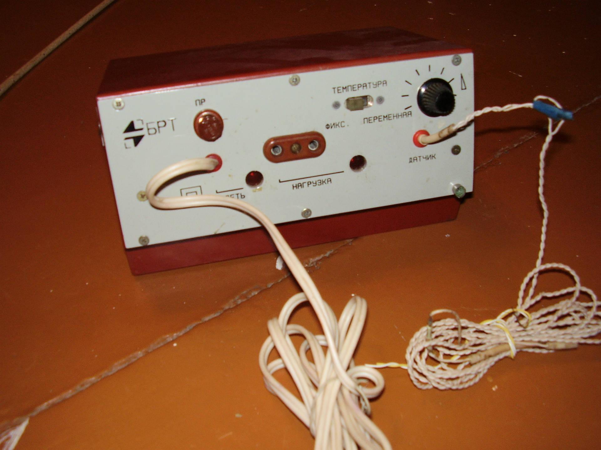 Из чего сделать терморегулятор для инкубатора своими руками