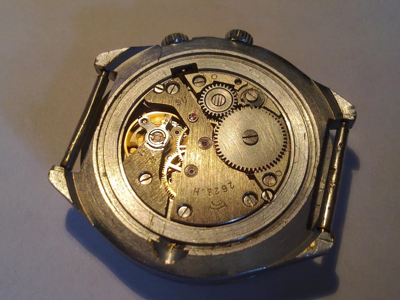 Механические часы ссср как они устроены