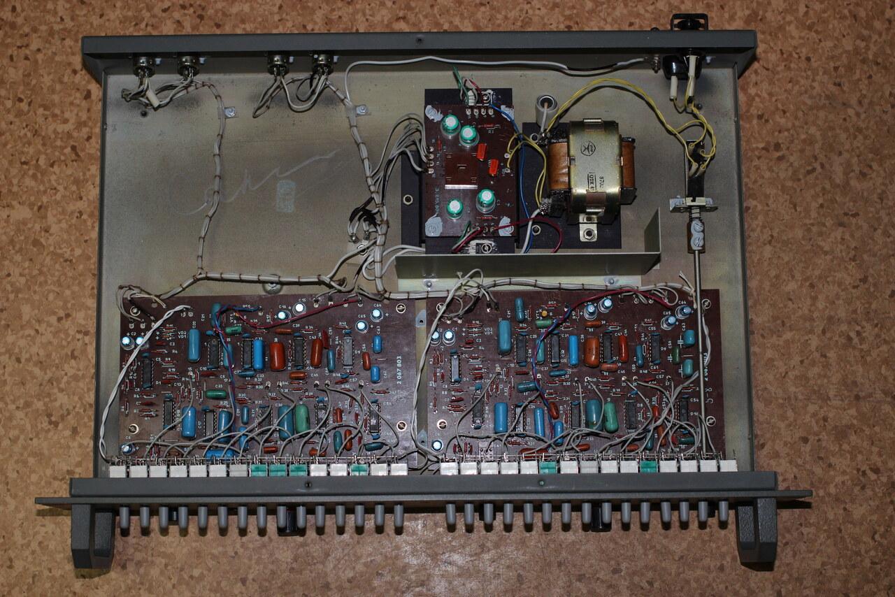 Эквалайзер электроника э-06 схема