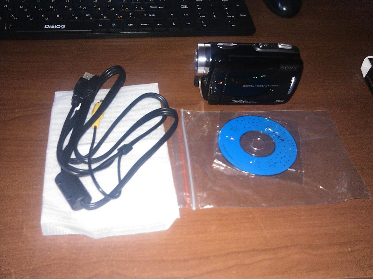 Инструкция видеокамеры sony slim