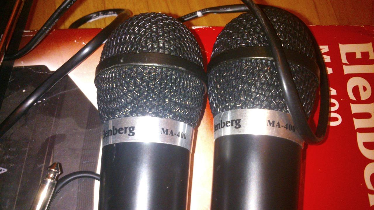 Инструкция к микрофону elenberg ma 400