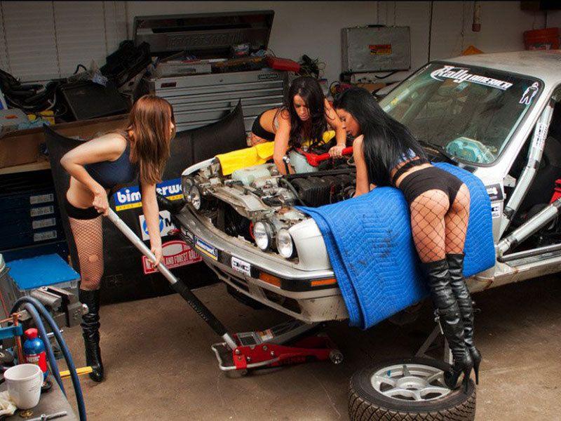 картинки с приколами ремонт машины