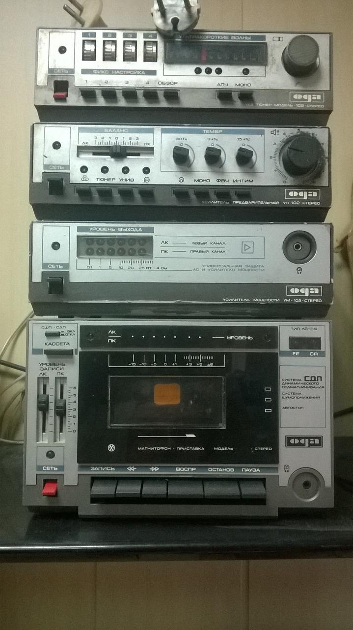 фото радиокомплексов японские