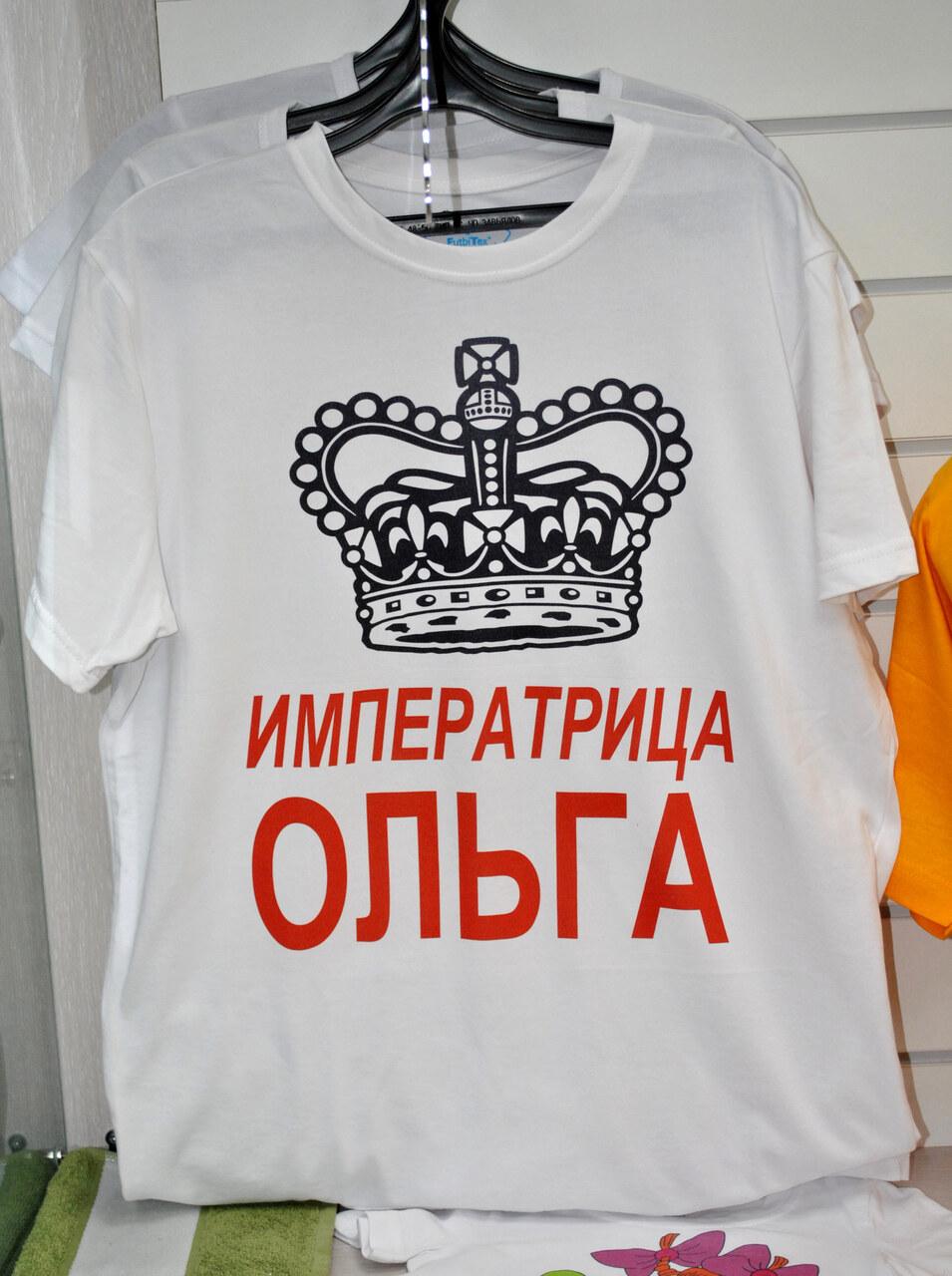 футболки печать в край