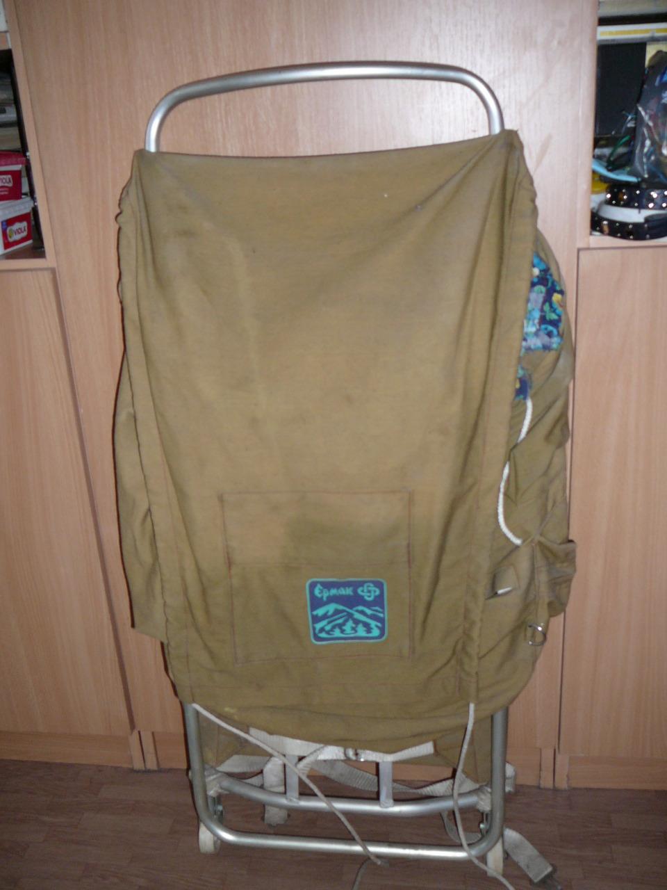 Рюкзак на алюминевой раме рулонная молния спираль в рюкзаках