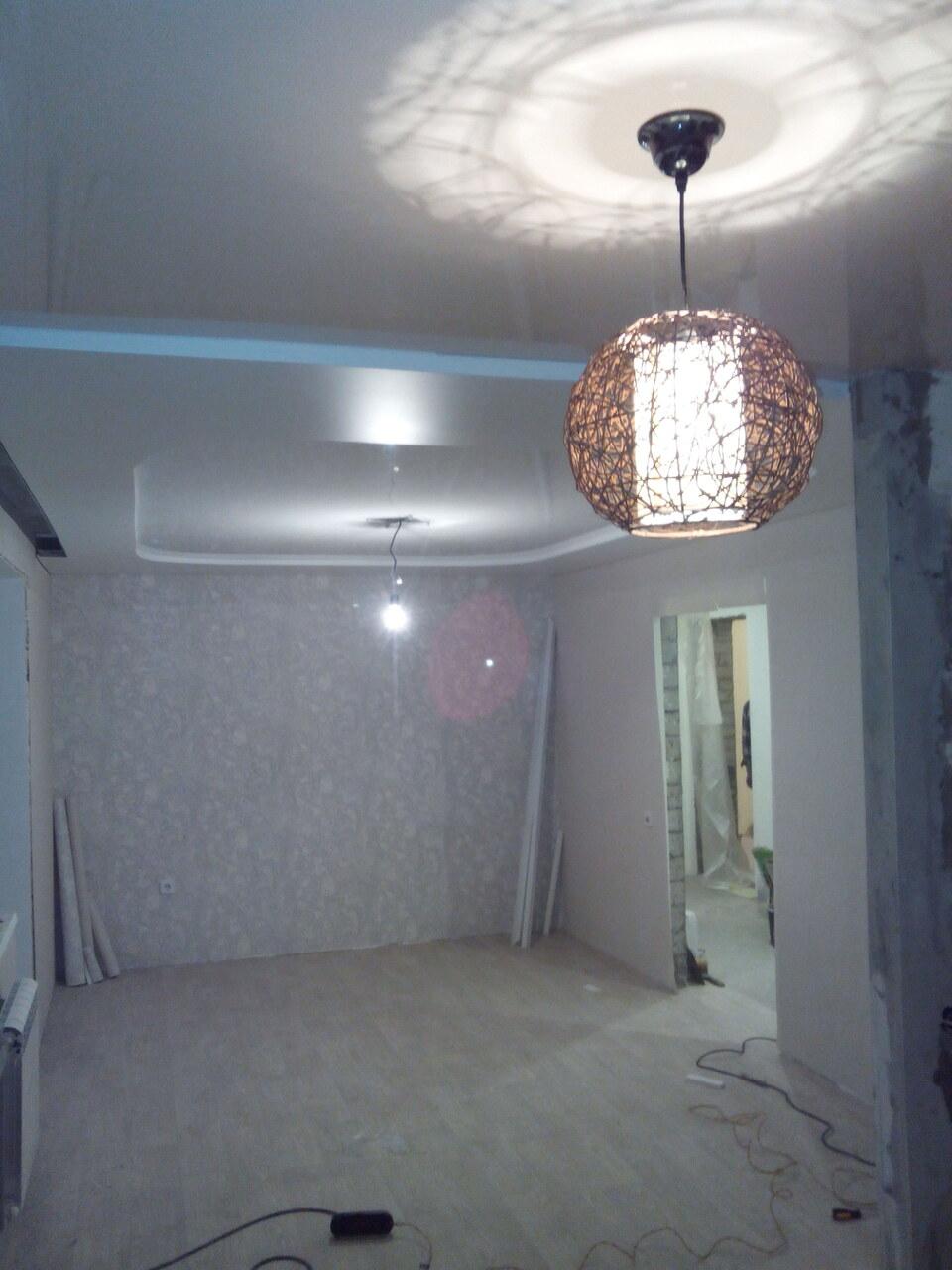 Стоимость установки потолочных светильников