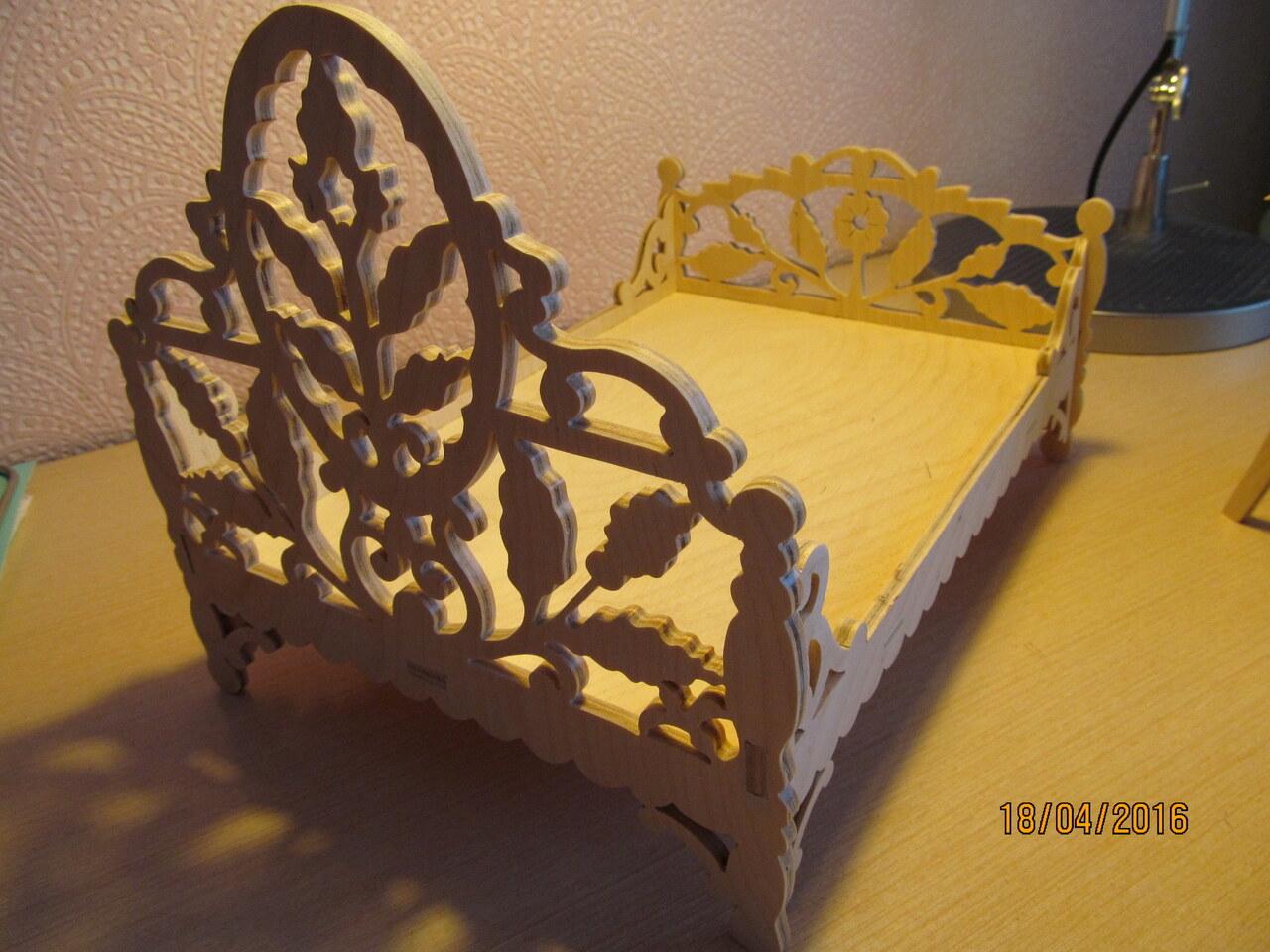 игрушечная детская мебель деревянная с фанеры общение