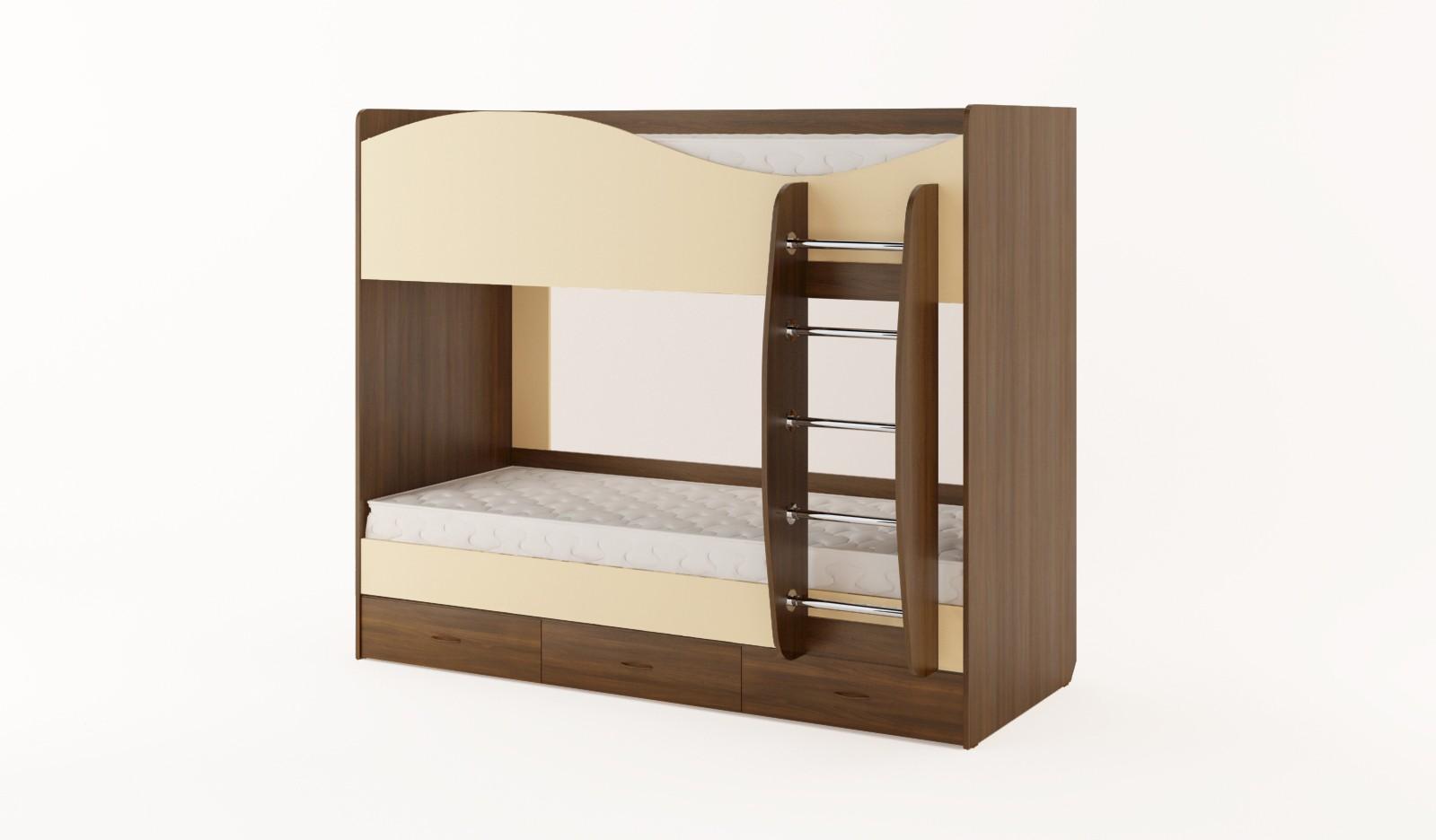 Двухъярусные кровати корпусные
