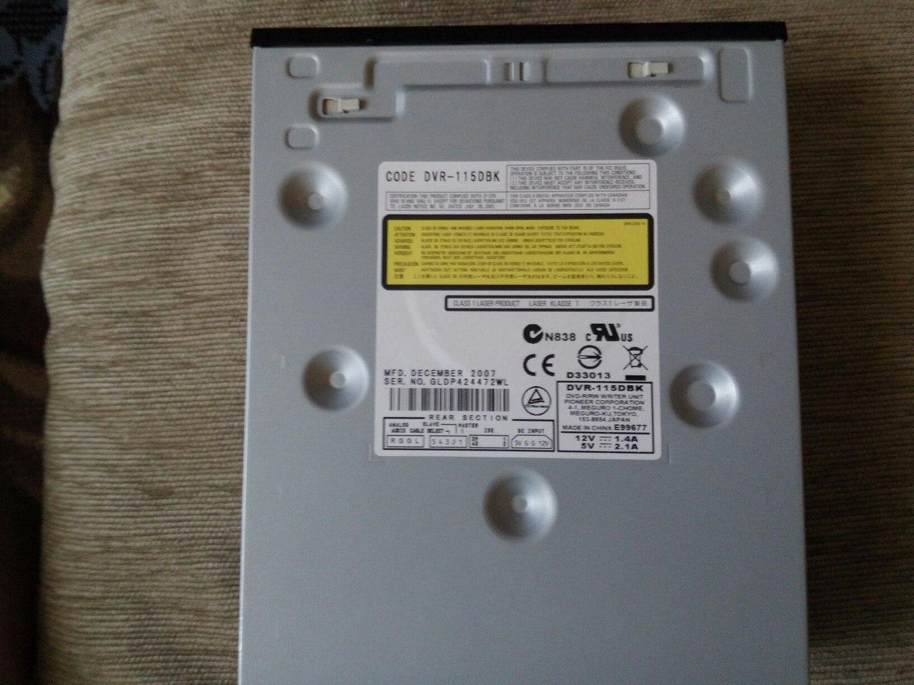 Pioneer DVR-115D DVD-RW Driver PC