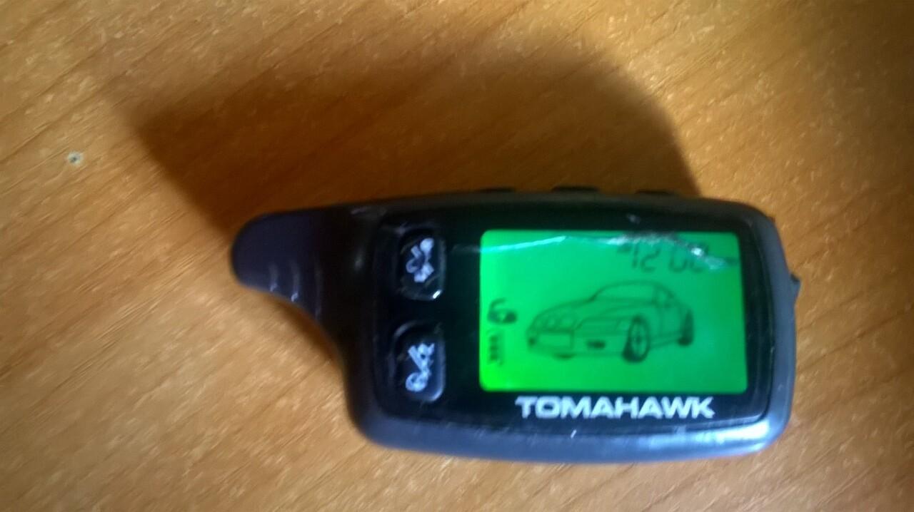 сигнализация tomahawk как пользоваться брелком