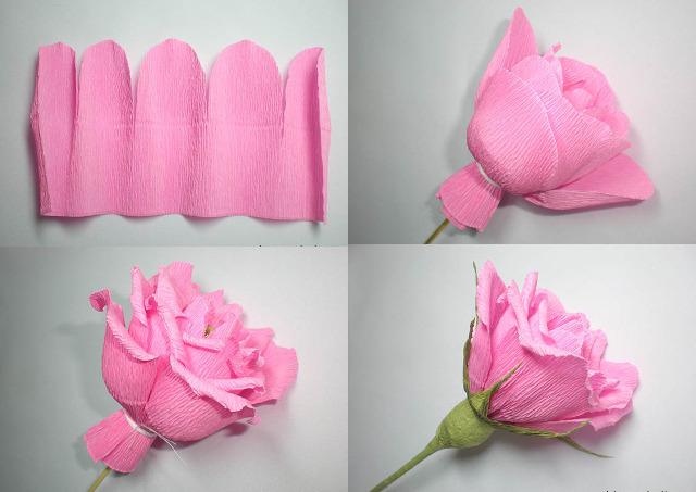 Бумажные цветы с конфетами своими руками из бумаги фото 77
