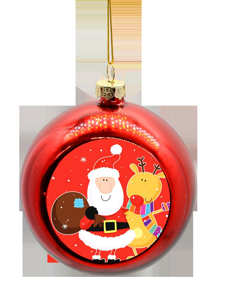 шары на елку с фотографиями уникальной запатентованной