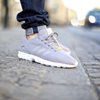 Adidas UK N03047 Zx Flux Base Pack Light Granite M19838 Men 214G88_LRG