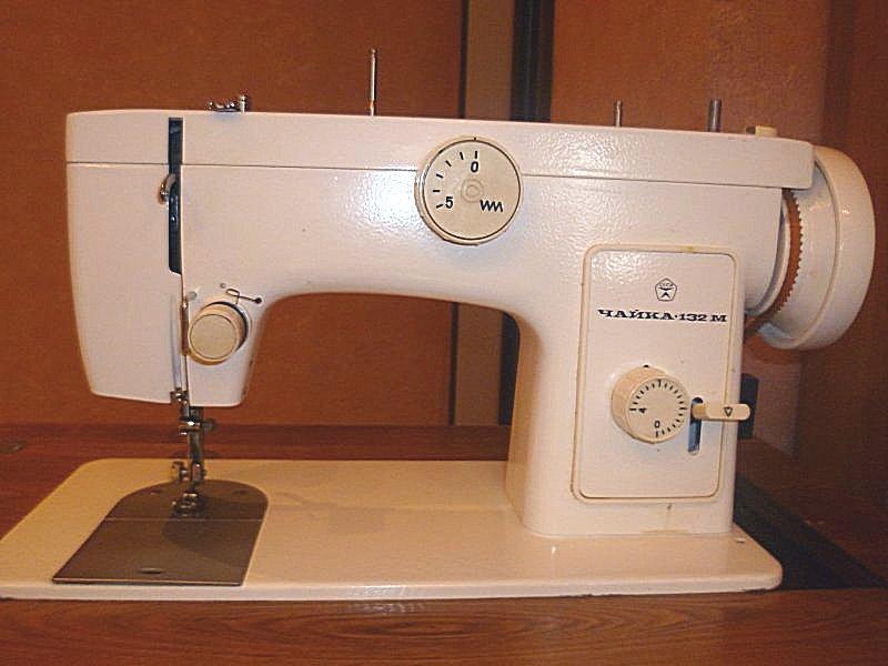 Машинка швейная чайка 132м инструкция