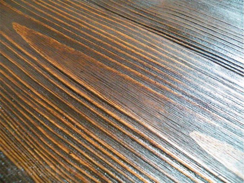 обработка дерева браширование