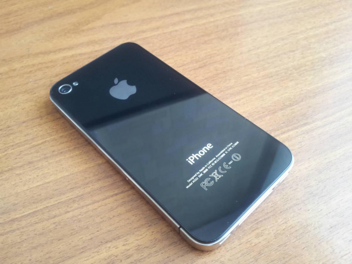 фото iphone 4 черный